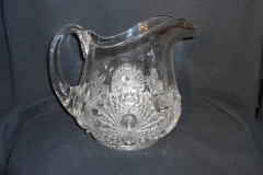 Hobstar and Feather Lemonade Pitcher
